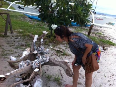Exploring the island's simple joys.