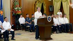 Pres Aquino makes his remarks