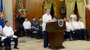 Pres Aquino makes his remarks