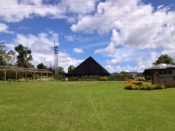 The Field where 'Brunch with the Monks' is held every 2nd Sunday of the month.