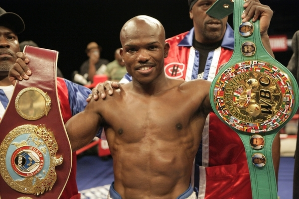 Timothy Bradley Shows Off His Belts