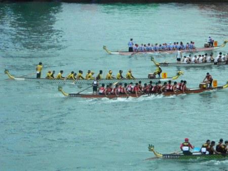 Bohol Takes on Dragon-Boating