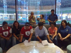 MOA Signing Between PDBF and Tapok Bol-anon