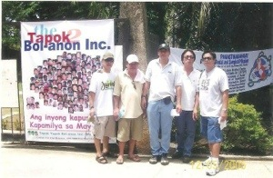 pics of tapok members forming the island of bohol