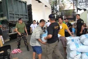 relief assistance for disaster victims