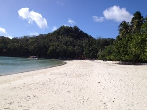 serene bay, cool water