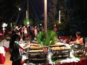 evening offering at Dakak