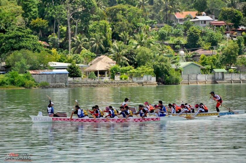 dragonboating in dauis