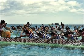 dragon boat action!