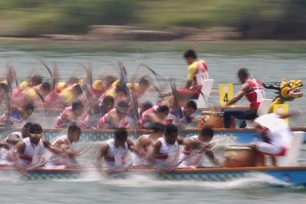dragon boat drama!!