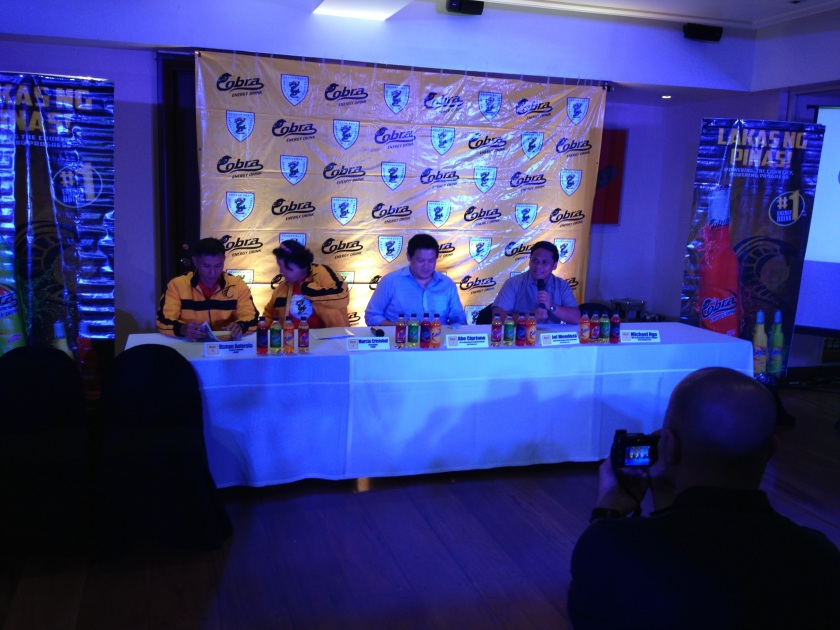 Thanksgiving Cocktails and Presscon