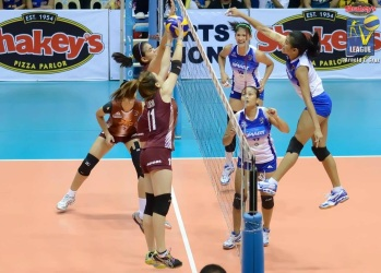 Alyssa in one of her successful forays...