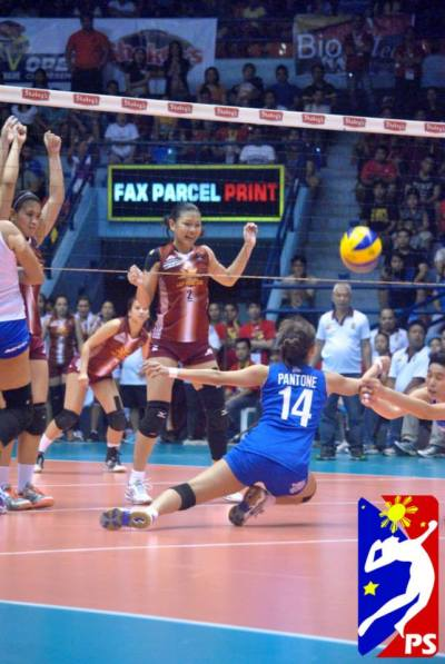 'It's Aly versus Angeli in the Shakey's V-League Finals' - Special Mention