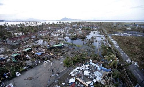 More damage in Tacloban