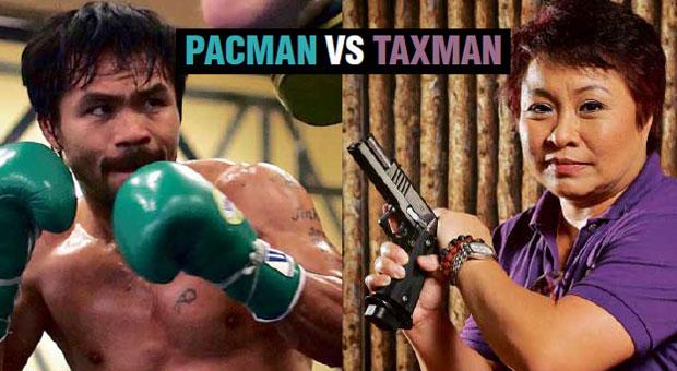 Pacman vs the Taxman. Who wins?