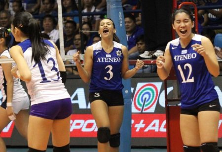 Rookies Michelle Morente and Jia Morado playing like veterans.