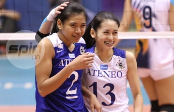 Alyssa and Denden, Ateneo's steading duo. (courtesy of spin.ph)