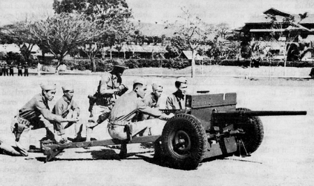 The hastily-trained Philippine Scouts proved their mettle in Bataan and Corregidor. (Courtesy of wikimedia.org)