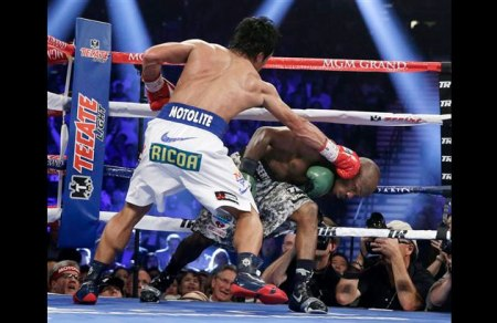 Manny on the offensive. (Courtesy of philstar.com)
