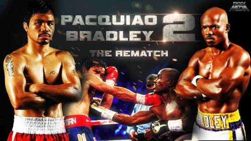 The long-awaited rematch. Will it be redemption for Manny? Or Vindication for Tim? (From pacquiaobradleyfightlive.blogspot.com)