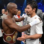 Manny accepts the unpopular decision win by Bradley.