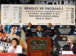 Bradley predicted long before the first bout that a second match would be forthcoming.