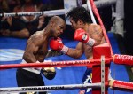 The compubox had Manny ahead comfortably, and the crowd reaction clearly showed that the fans agreed with the compubox result.