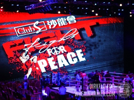 Fight for Peace at the Resorts World last October. (Courtesy of wheninmanila.com)