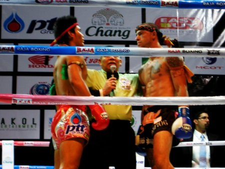 Exciting MMA action takes the Philippines by storm. (Courtesy of Muay Thai FB)