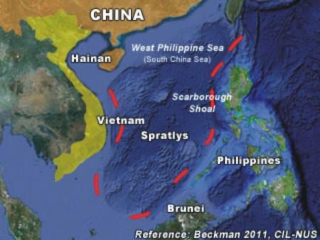 China's 9-line