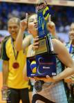 Rachel Ann Daquis takes the Finals MVP award.