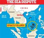 The South China Sea hotspot.