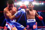 Manny pummels an overmatched Algieri.