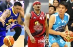 Jimmy, Mark and James would be regular faces in the PBA all-star extravaganza