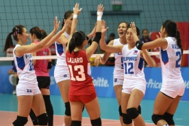 Philippine Womens Volleyball Takes a Bow