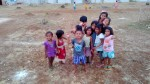 The children of Sulangan await their new units...