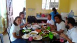 With the Habitat staff in Bantayan.