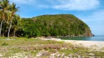 An island paradise right in front of the Brgy De Carabao cove.