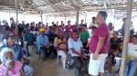 Natl Anti-Poverty Commission rep, Ermin Palau, explains the project.