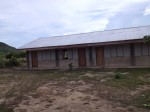 The brgy high school has only 3 functional classrooms. Their Gr 7 is holding classes in a makeshift shed.