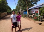 The feisty Brgy Capt Marilyn with her husband, Jun, a Bisaya migrant.