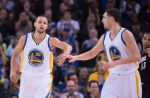 Steph and Klay wow the crowd.