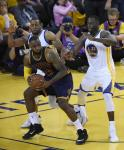 Andre Iguodala playing the pivotal role in containing  the King.