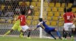 Misagh Bahadoran scores against Yemen.