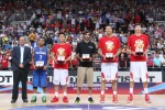 The mythical 5 is announced: with China's Li Jian Lian, Zhuo Qi and Guo Ailun joining the Philippines Jason Castro and Iran's Samad Bahrami in the podium.