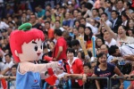 The boisterous crowd provided the 6th man effort for the Chinese team.