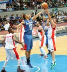 Gabe Norwood, another half-breed who has more Pinoy sense in him than our other players back home.