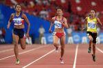 Kayla Richardson annexes the woman's sprints...