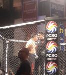 Caloy sustains a dislocated shoulder...