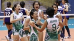 Michelle gumabao, Jem ferrer and other great players in a loaded la Salle roster 5 years ago.